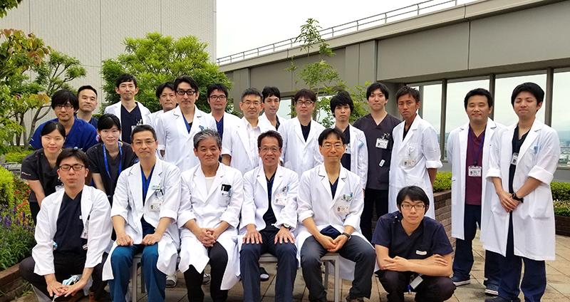 日本赤十字社和歌山医療センタースタッフ